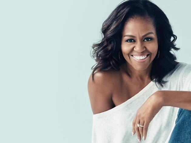 """Michelle Obama, en couverture de son best seller international """"Devenir"""""""
