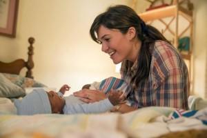 Rebecca Pearson et Randall bébé dans This is us
