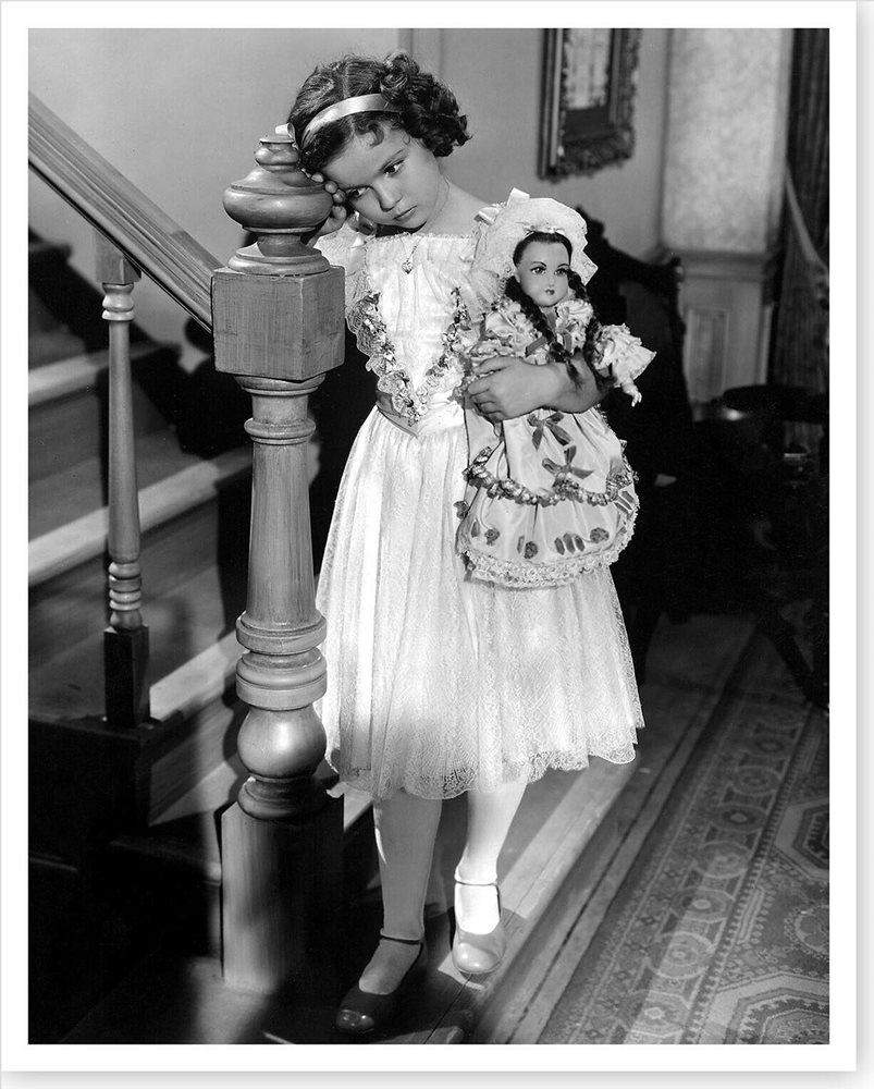 "Shirley Temple in ""A little princess"" de Frances Hogdson Burnett"