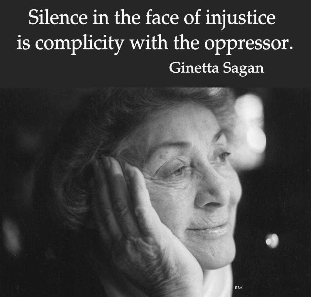 Ginetta Sagan, défenseur des droits de l'homme