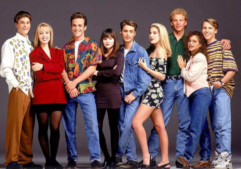 Les acteurs de Beverley Hills 90210, bientôt de retour sur AB1