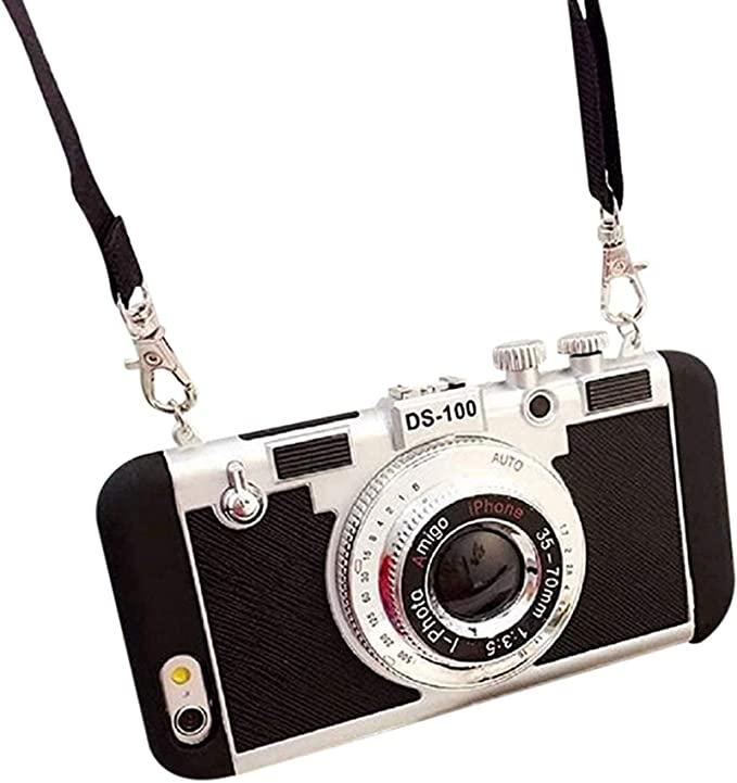 """La coque de téléphone """"appareil photo vintage"""" Emily in Paris"""