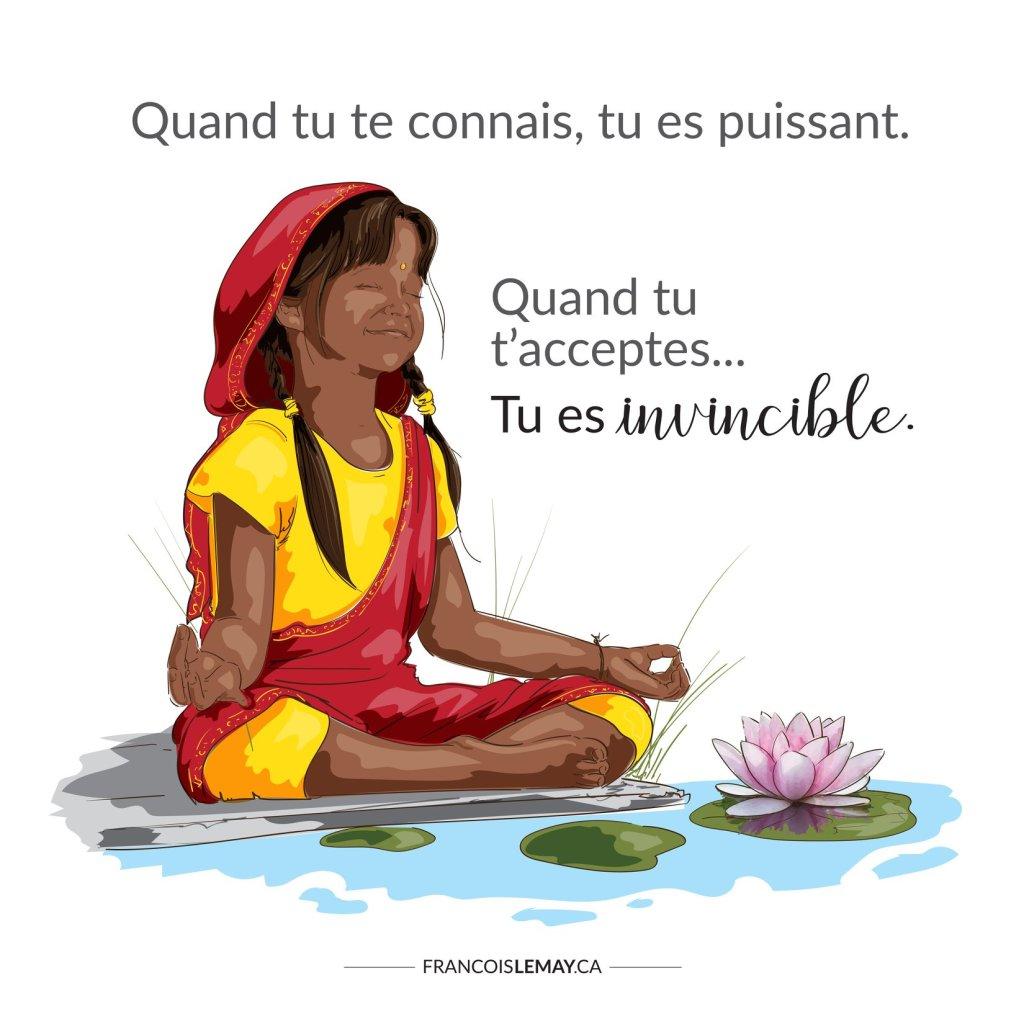Mantra de motivation et développement personnel, François Lemay, fait par Martine Cédilotte