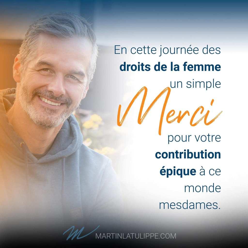 Martin Latulippe, coach de transformation québécois
