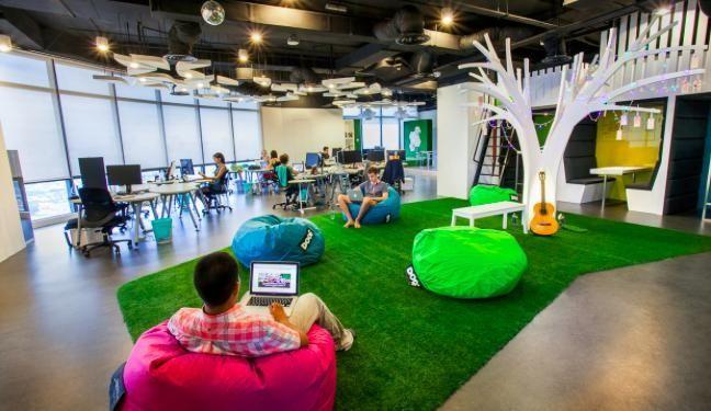 Les bureaux de MindValley, élus Meilleur lieu de travail, best place to work