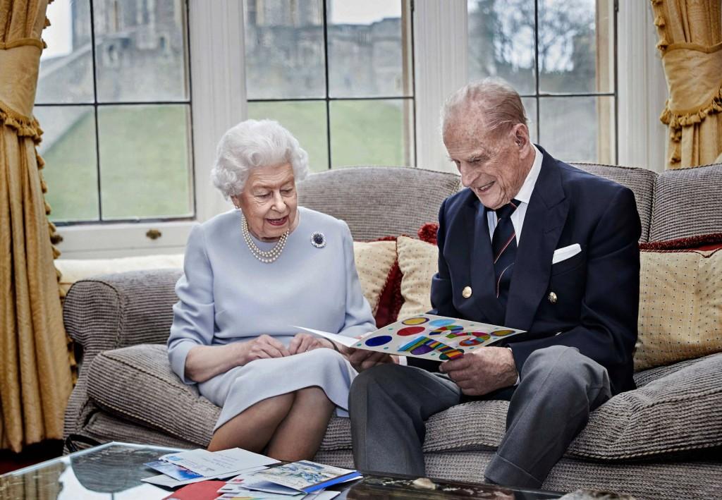 La Reine d'Angleterre et son mari, le prince Philippe