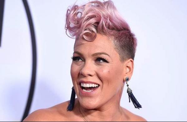 La chanteuse Pink, alias Alecia Moore